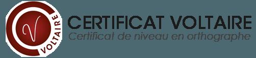 logo certification voltaire